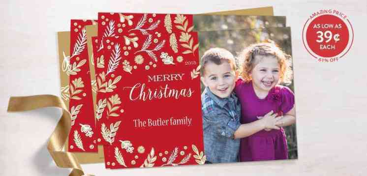 Holiday Greeting Card Deal Round Up Shutterfly Minted