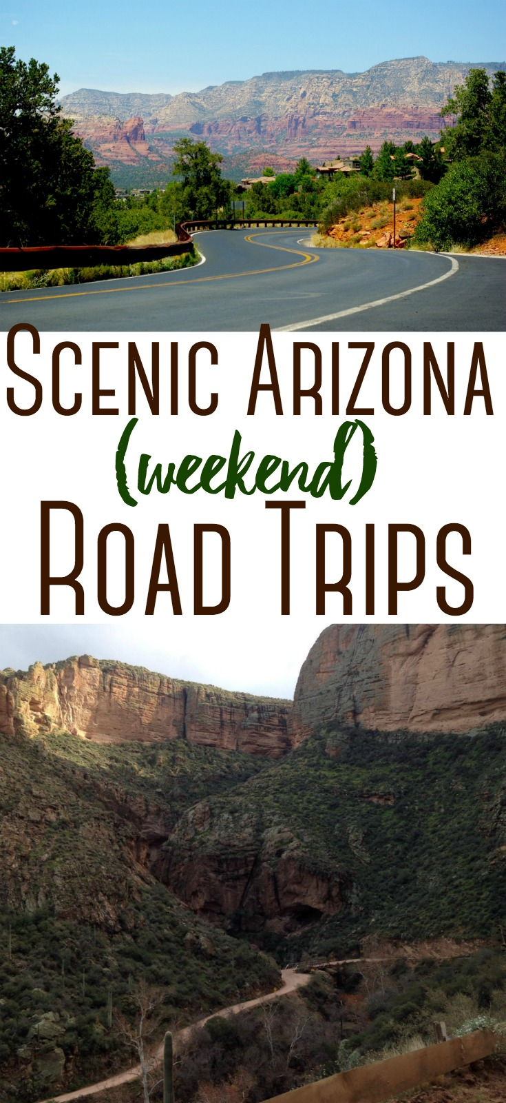 Beautiful and scenic Arizona Road Trips that will make you want to hop in the car with the family to  see everything Arizona has to offer!
