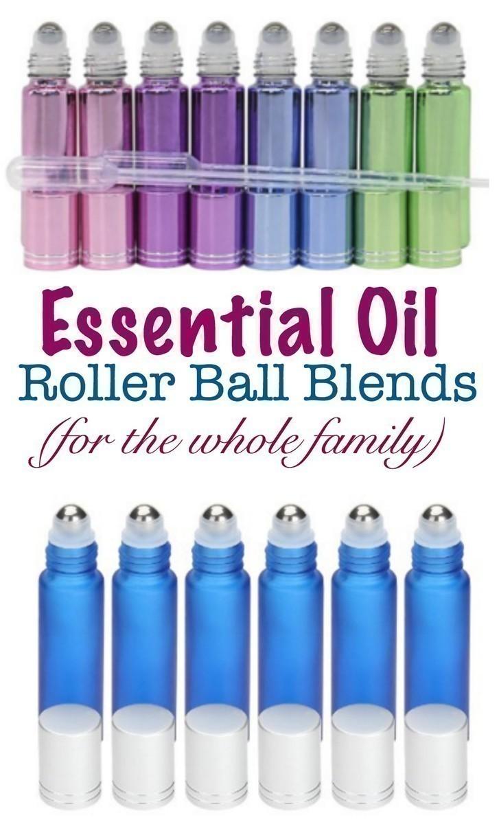 The Best Essential Oil Roller Bottle Blends