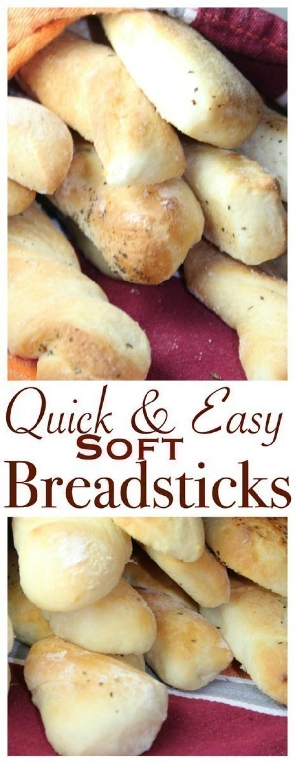 Soft & Easy Breadsticks