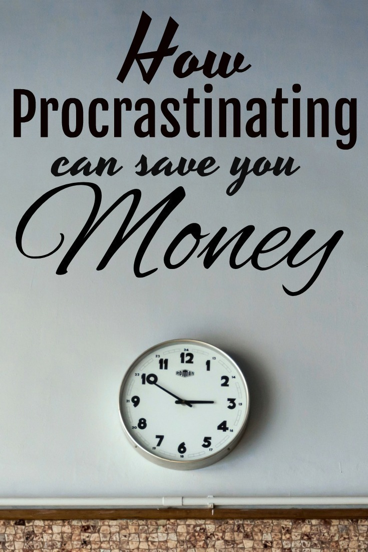 When it comes to retirement and funding your savings, you definitely don't want to procrastinate - right? There is one instance, however, where procrastinating can actually help you save money.