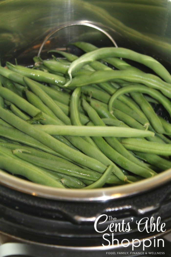 Instant Pot Steamed Green Beans
