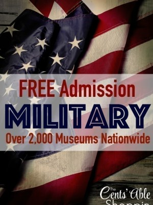 Blue Star Offers FREE Admission to Military Families at Over 2000 Museums Nationwide