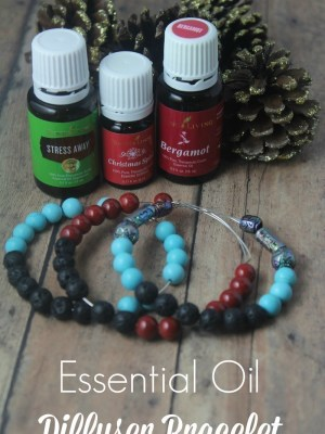 DIY Essential Oil Diffuser Bracelets {Cute, Easy Gift!}