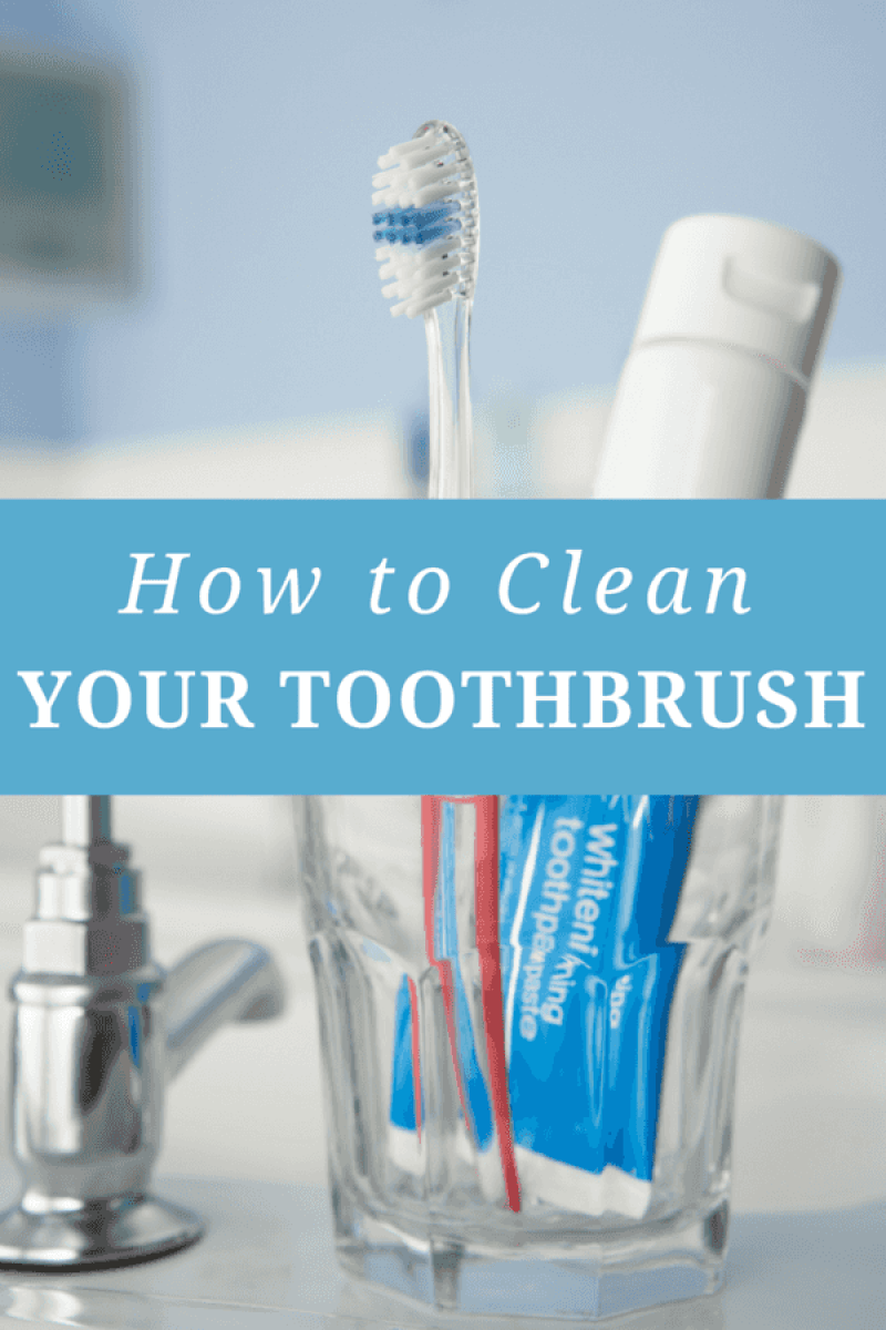 how to clean your toothbrush the centsable shoppin. Black Bedroom Furniture Sets. Home Design Ideas