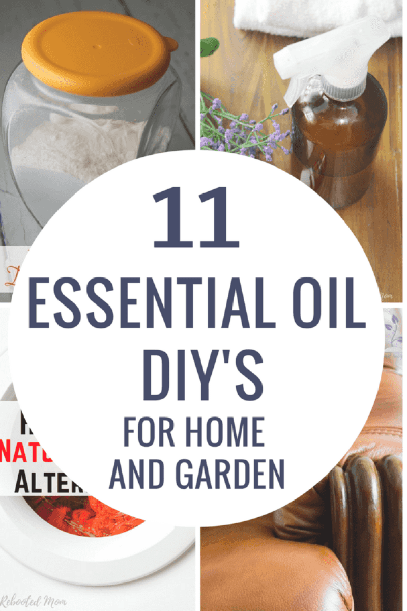 Love making DIY Essential Oil recipes? These 11 essential oil DIYs for home and garden are an easy and fun way to welcome a natural lifestyle!