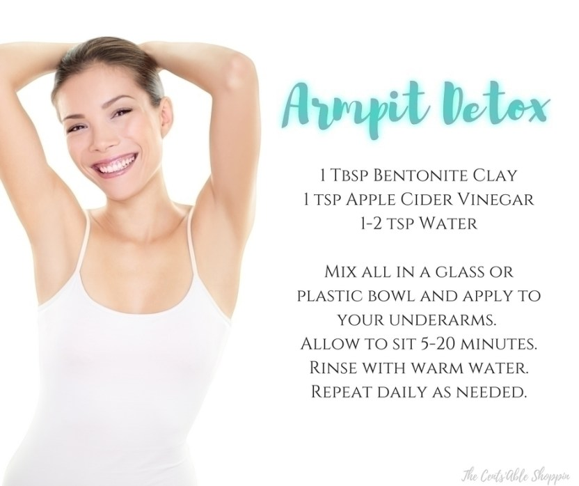 Sweat is a completely normal bodily function - it allows the body to cool down and remove toxins from the body. Instead of using commercial, aluminum-based deodorants and antiperspirants, start with a gentle armpit detox so you can take a more natural route to dealing with your body's natural processes.