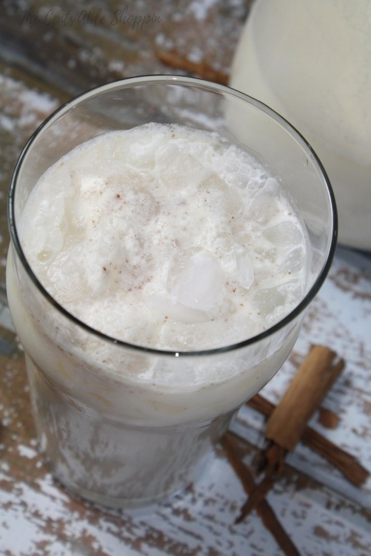 Homemade Mexican Horchata - easy, creamy and lightly sweetened. Made with simple ingredients and free of refined sugar. Perfect for a hot summer day!