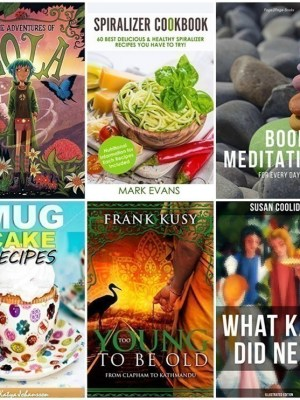 FREE Kindle Books | Spiralizer Cookbook, Mug Cake Recipes + More