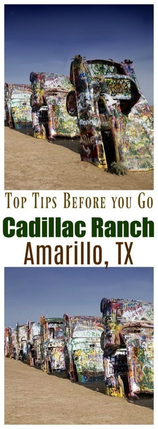 One cannot possibly pass through Amarillo, Texas without stopping at Cadillac Ranch. It's a [FREE] must-see attraction for both young and old - you'll want to read these 7 tips before visiting!