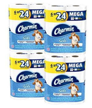 Amazon: Charmin 24 ct Mega Roll $19