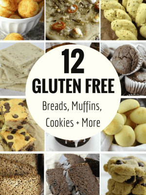 12 Gluten Free Breads, Muffins, Cookies and More