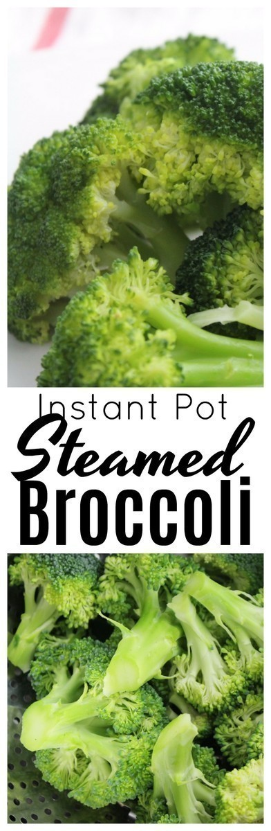 Broccoli is such a wonderful superfood! Find out how to make the most perfect, steamed broccoli in the Instant Pot.