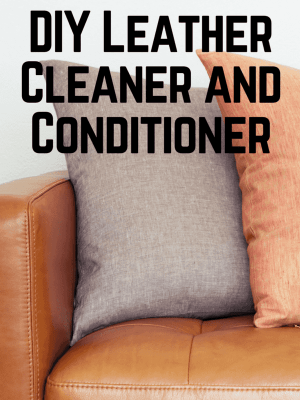DIY Leather Cleaner and Conditioner