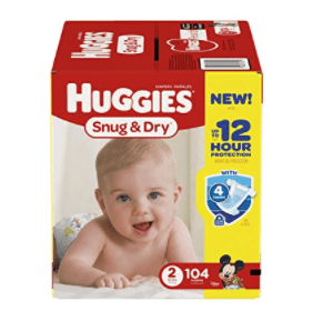 Amazon: Huggies 104 ct just $13