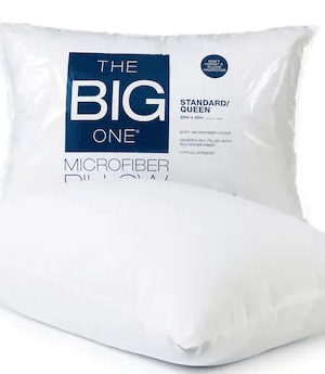 Kohl's: The Big One Pillow $3