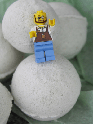 LEGO Themed Bath Bombs