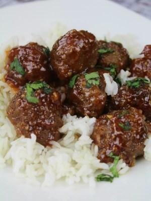 Garlic Honey Meatballs