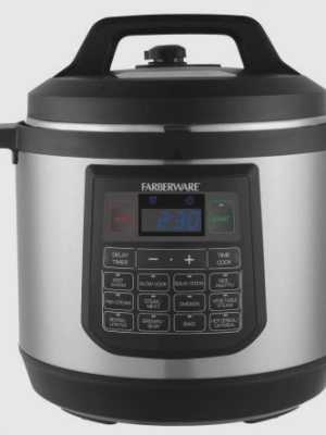 Faberware 8qt Electric Pressure Cooker $59.99