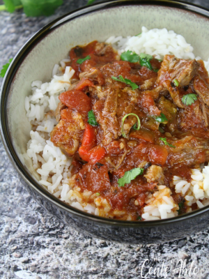 Cuban Ropa Vieja (Instant Pot or Slow Cooker)