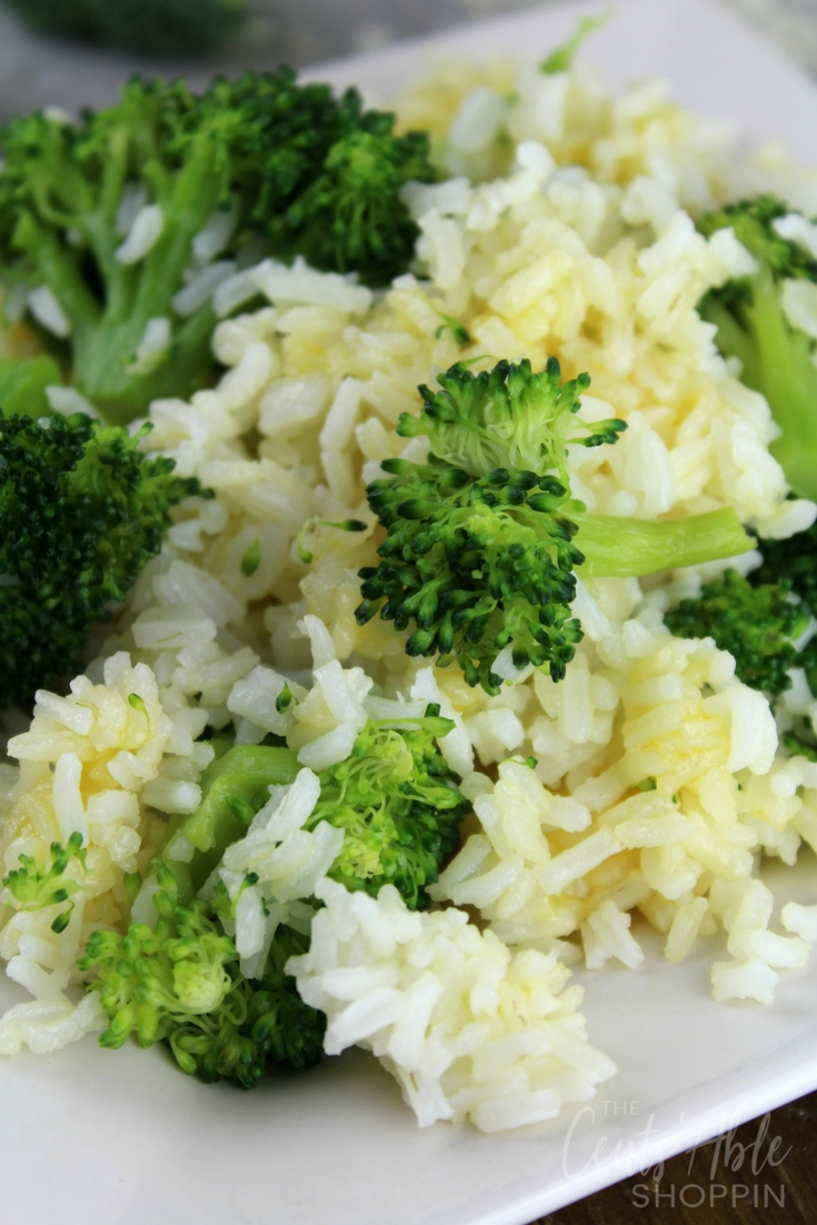 Instant Pot Cheesy Broccoli and Rice: Combine freshly steamed broccoli with cheesy rice in this easy, kid-friendly Instant Pot recipe that's ready in minutes! #healthy #kidfriendly #InstantPot #PressureCooker #broccoli #rice