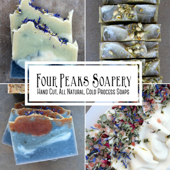 Four Peaks Soapery: Hand Cut, All Natural, Cold Process Soaps