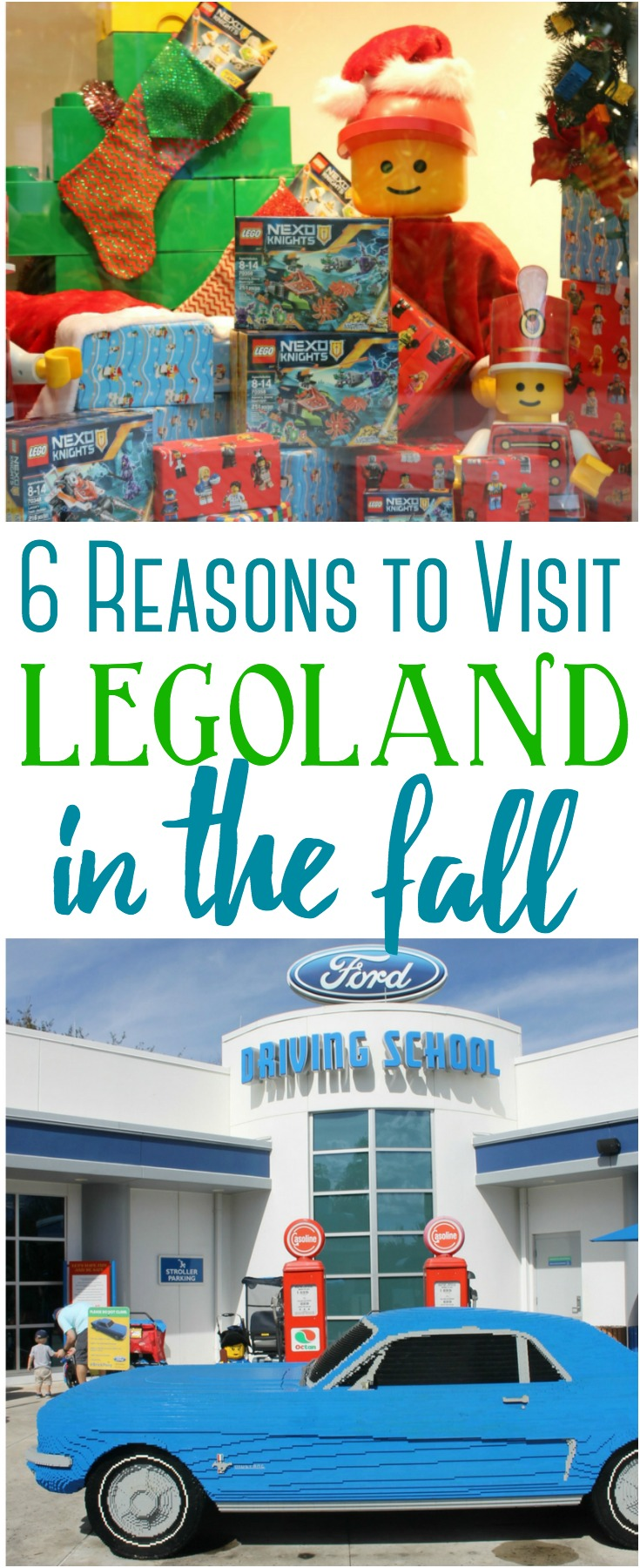 LEGOLAND is a popular tourist destination for families with small children. Here are 6 reasons you may want to visit LEGOLAND in the fall!
