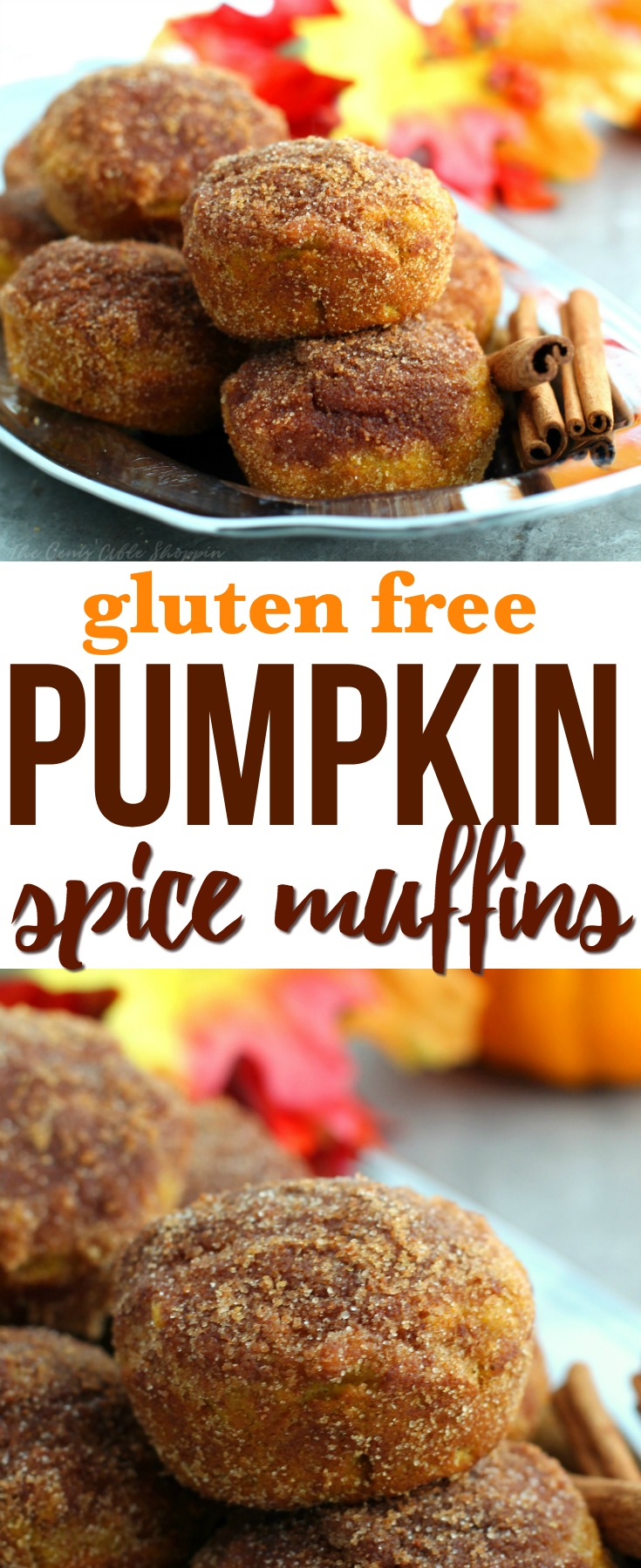 These Gluten Free Pumpkin Spice Muffins are soft, fluffy and sweet - made with the perfect amount of pumpkin spice. The perfect way to welcome fall!