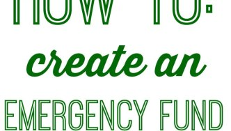 3 Steps to Make An Emergency Fund