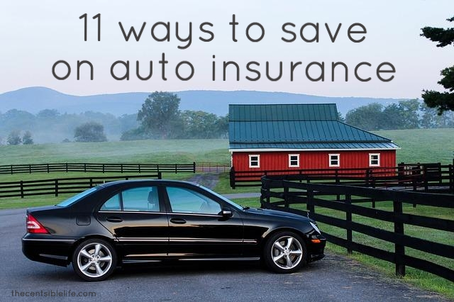 save on auto insurance