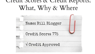 Credit Scores and Credit Reports: What, why and where?