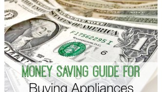 Money Saving Tips for Buying Appliances