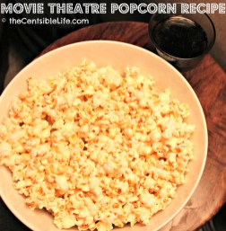 Homemade Movie Theatre Popcorn