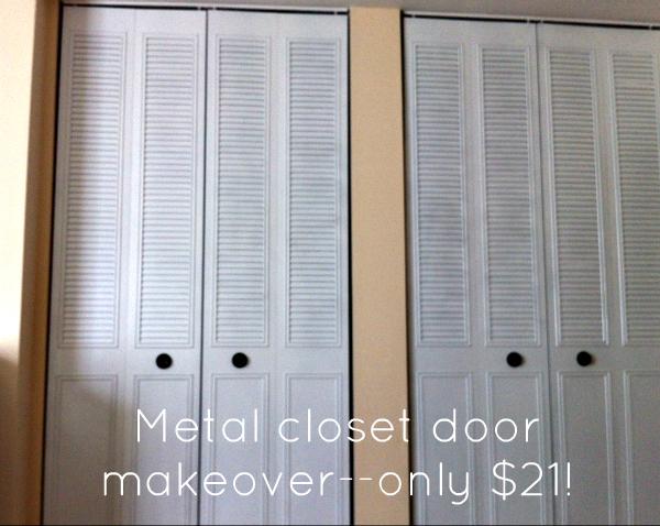 How To Spray Paint Closet Door