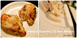Perfect Roasted Chicken Breasts