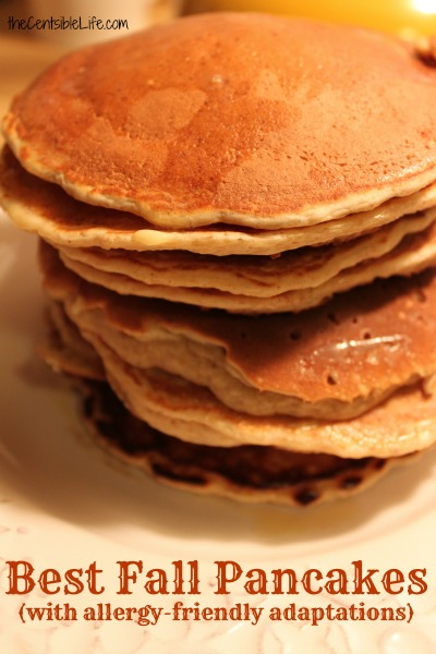 Best Organic Pancake Recipe for Fall (or Anytime!)