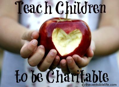Teach Children to be Charitable