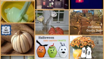 Halloween and Fall Craft Projects Roundup