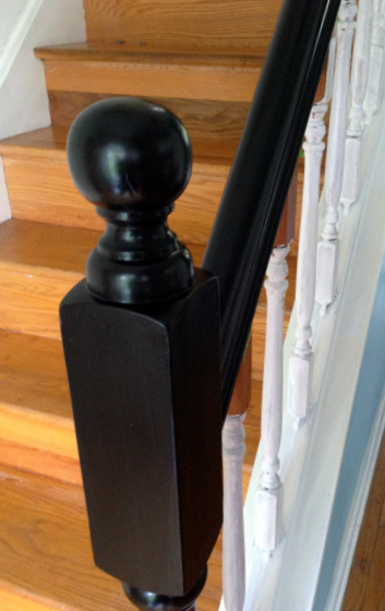 Stair Railing Makeover   Update Railings And Spindles