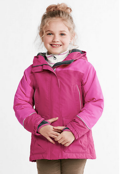 Land's End winter Squall parka