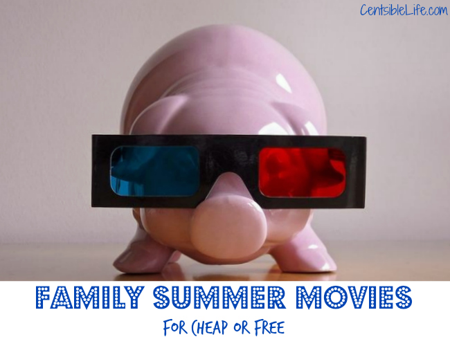 Family Summer Movies free or cheap