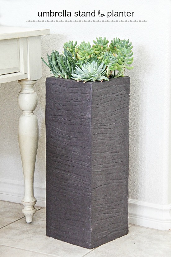 Umbrella stand to Planter