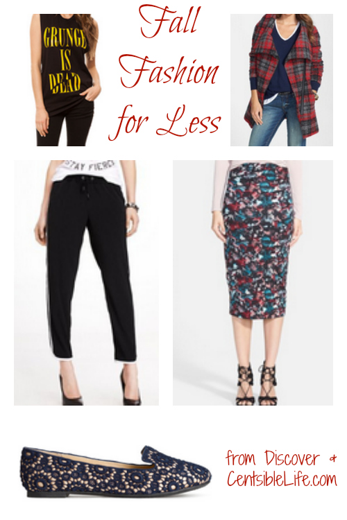 Fall Fashion for Less