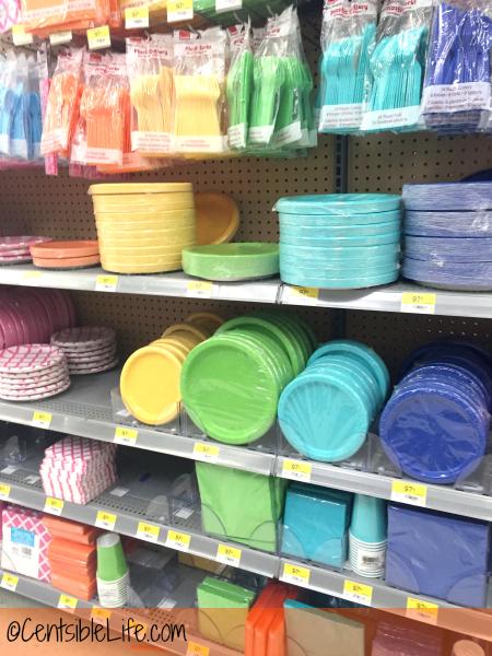 Walmart party supplies