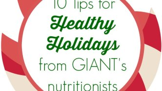 10 Tips for Healthy Holidays from GIANT