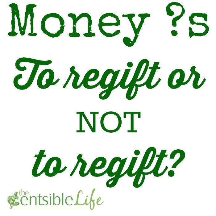 To regift or not to regift