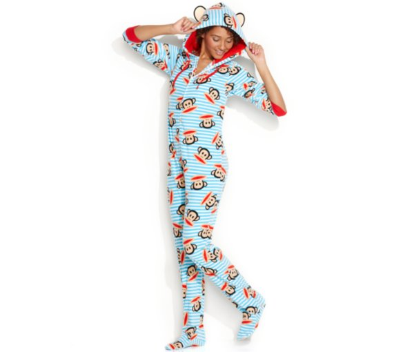 Paul Frank footie pajamas