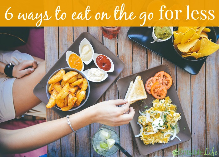 6 ways to eat on the go for less