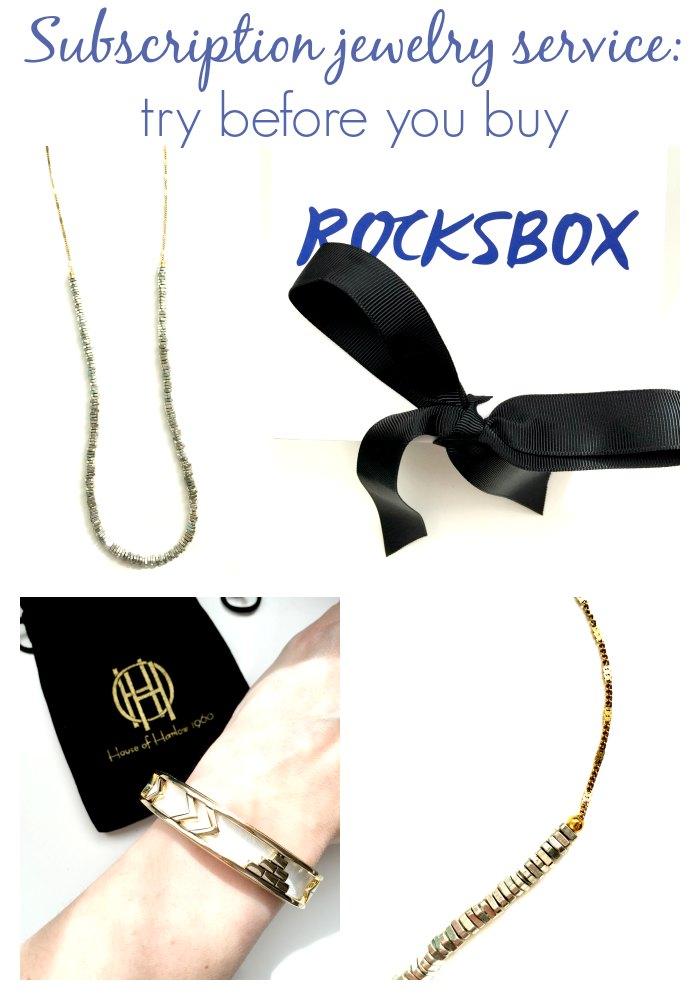 Rocksbox subscription jewelry service