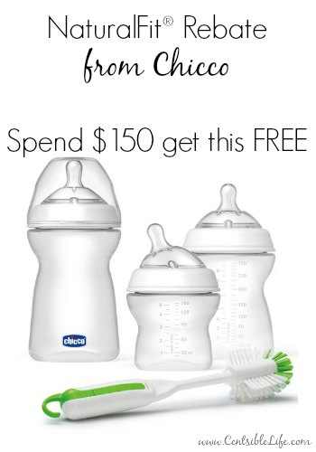 NaturalFit Rebate from Chicco